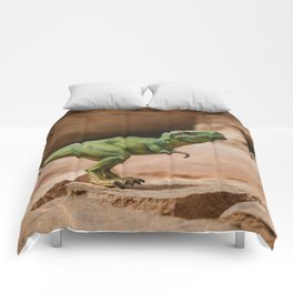 Dinosaur - T-Rex at Home Comforters