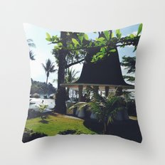 Bask In Sunshine Throw Pillow