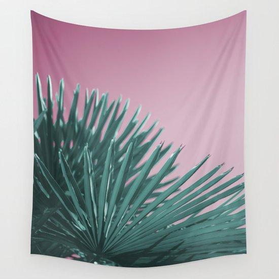 Pop Art Palms Wall Tapestry