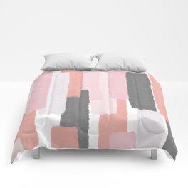 Rising #society6 #abstractart Comforters
