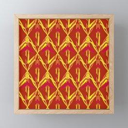 Golden Flax Framed Mini Art Print