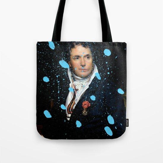 Brutalized Portrait of a Gentleman Tote Bag