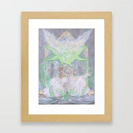Clean Hearts Pure Hands Framed Art Print