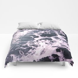 Marbled Waves Comforters