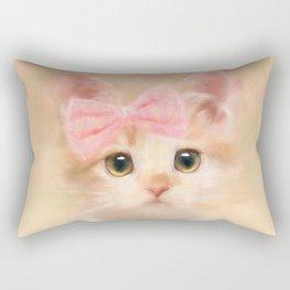 Kiki Kitten Rectangular Pillow