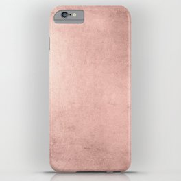 Blush Rose Gold Ombre iPhone Case