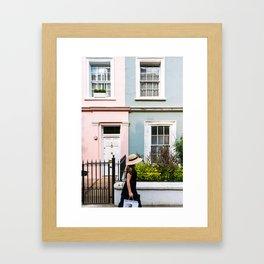 London - Notting Hill Framed Art Print
