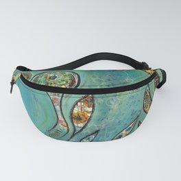 Bubbling underneath Fanny Pack