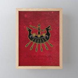 Limsa Lominsa flag - The Maelstrom ( FFXIV) Framed Mini Art Print