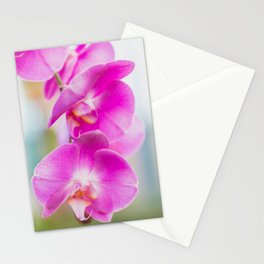 Blooming Together - Orchid Photography Stationery Cards