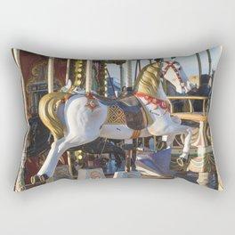 Wooden horse riding Rectangular Pillow