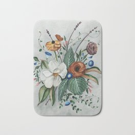 Moody Magnolia Arrangement Bath Mat