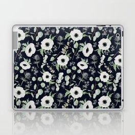 Moody Anemones Laptop & iPad Skin