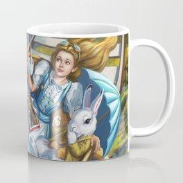 Steampunk Alice in Wonderland Teacups Coffee Mug