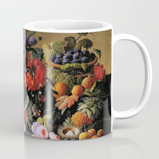Vintage Varnish- Flowers&Fruit Mug