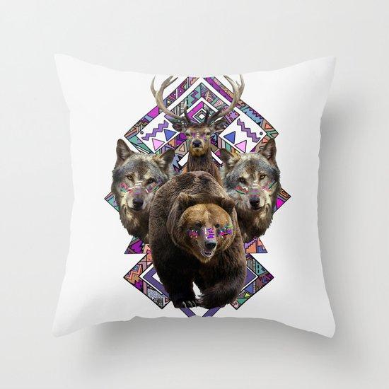 ▲NANUK▲ Throw Pillow