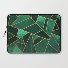 Emerald and Copper Laptop Sleeve