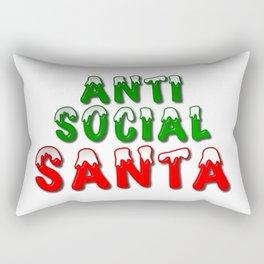Anti Social Santa Rectangular Pillow