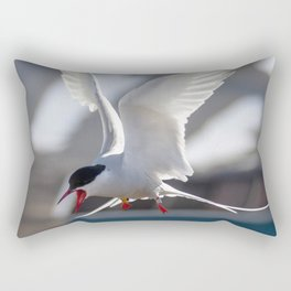 Tern's shriek Rectangular Pillow