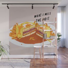 What I miss the most: Francesinha Wall Mural