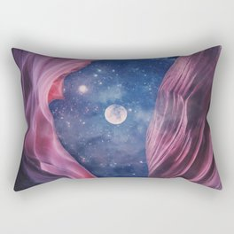 Grand Canyon with Space Collage Rectangular Pillow