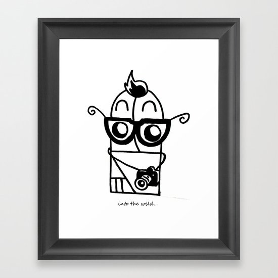 You're So Hipster You're Not Hipster Framed Art Print