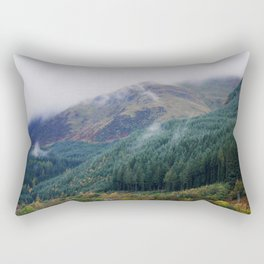 Misty forest #1 Rectangular Pillow
