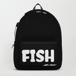 Fish Tank print for Men and Women I Funny Aquarium Gift Backpack