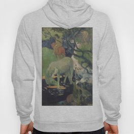 The white horse - Paul Gauguin (1898) Hoody