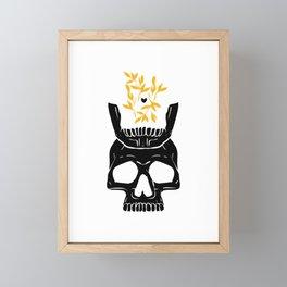 King of No Body - Gilded Knight Framed Mini Art Print