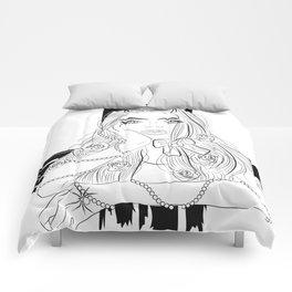 Devil Girl Comforters