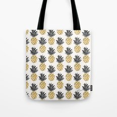Vintage Pineapple Tote Bag