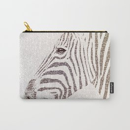 The Intellectual Zebra Carry-All Pouch