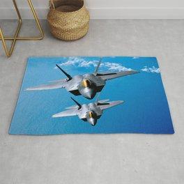 Lockheed Martin F-22 Raptor Rug