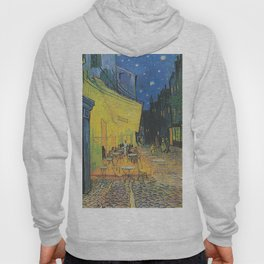 Van Gogh -  The Cafe Terrace on the Place du Forum, Arles, at Night Hoody