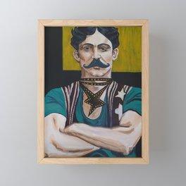 The Strong Man Framed Mini Art Print