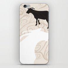Farm Poster #1 -Goats iPhone & iPod Skin