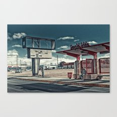 CAN'T WE JUST.. Canvas Print