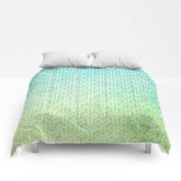 Geometric degrade  Comforters