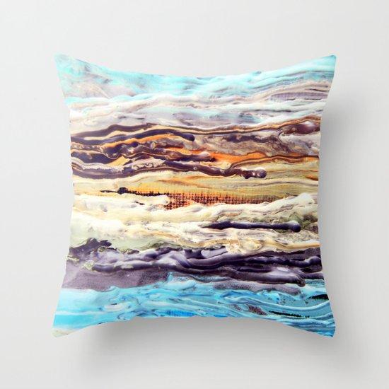 Wax #1 Throw Pillow