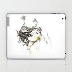 Bird Feeding Laptop & iPad Skin