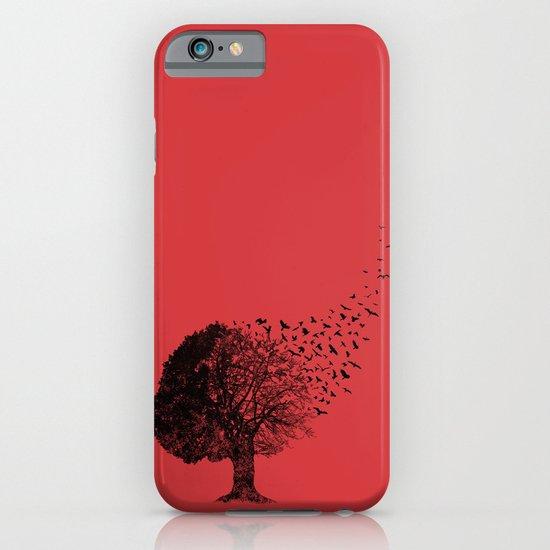 Autumn Birds iPhone & iPod Case