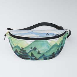 Rolling Mountains Fanny Pack