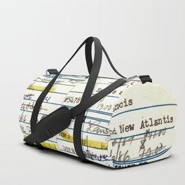 Library Card 5478 The New Atlantis Sporttaschen