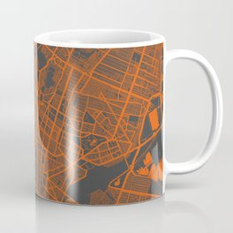 Mexico Map Coffee Mug
