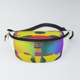 Yellow Flower Fanny Pack