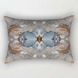 The Hidden Star Of David (Mandala-esque #42b) Rectangular Pillow