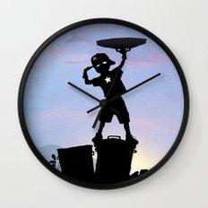 Captain Kid Wall Clock