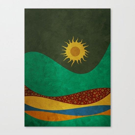 color under the sun (III) Canvas Print