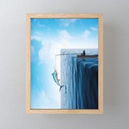 Fishers Edge Framed Mini Art Print